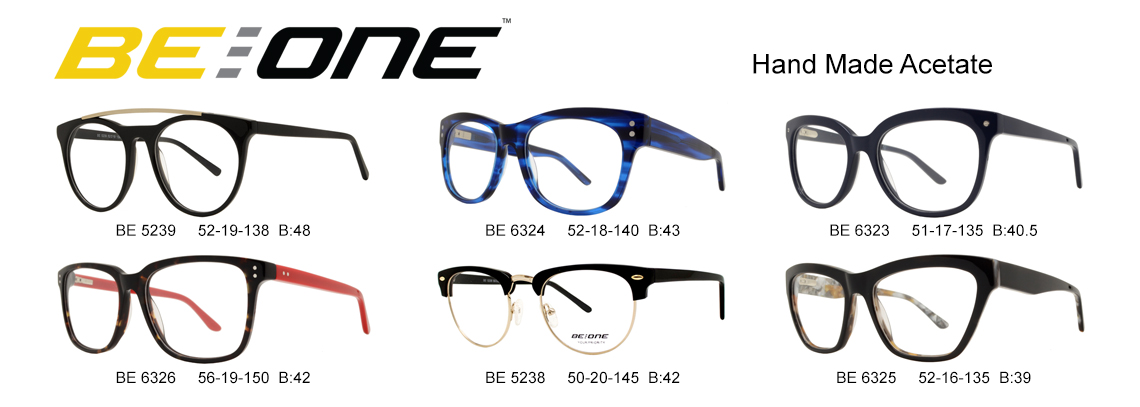 BeOne Acetate Optical Frames